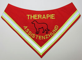 Therapie Assistenzhund Halstuch / Kenndecke