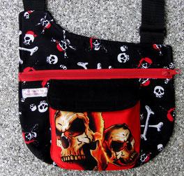 Gassitasche, Totenkopf, Tasche , Hund, Skull