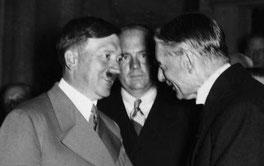 Гитлер и Чемберлен, 1938, Мюнхен