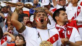 Болельщик сборной Перу / Fan of the national team of Peru