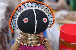 南アフリカのンデベレ人形です♪