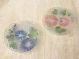 山田裕子 「花の小皿」