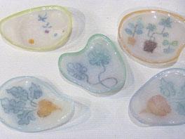 山田裕子 「豆豆皿FOR TEATIME」
