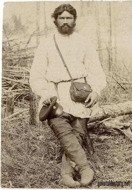 Казак Якутского полка Степан Расторгуев (Снимок Н. Виташевского)