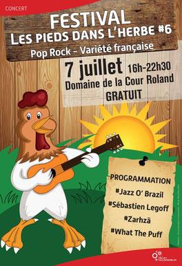 Festival « Les pieds dans l'herbe » au Domaine de la Cour Roland - Vélizy / Jouy-en-Josas.