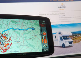 TomTom Wohnmobil-Navigation