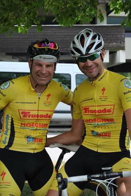 Marc und Dennis Kuznik in Mehlingen am Start