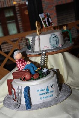 Torte Motivtorten Figuren Aus Fondant Torte Geburtstag Jubilaum