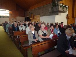 Andacht in der Pfarrkirche Göfis beim Sel. Carl Lampert