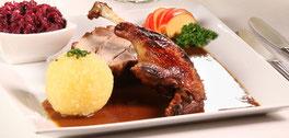 Speisekarte Haupspeisen Restaurant Gasthof zur Post Riedenburg