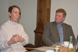 """Seit Januar ist Axel Reimers (rechts) der """"Jobcoach"""" für die Gemeinden Nottuln und Rosendahl. Fotos: Anna Eckart (wfc)"""