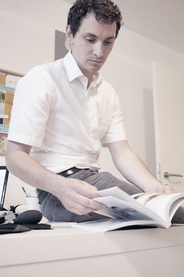 Florian Emhofer bei Informationsgespräch