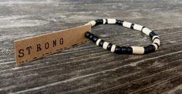 Individuelles Armband mit deinem Wunschtext aus Morsebuchstaben - mit Liebe handgemacht vom kleinen Schmuck-Label Majuki