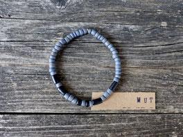 Individuelles Armband mit Namen aus Morsebuchstaben - mit Liebe handgemacht vom Schmuck-Label Majuki