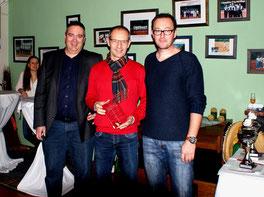 v.l.n.r.: Patrick Gindorf, Siegfried Kramp und Jörg Hawner