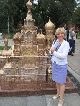 Tatjana in Miniaturpetersburg