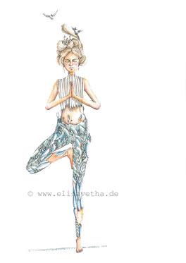 Elisabeth Wächter_Elisavetha_Illustration_Image_Baum_Gouache_Ink_google