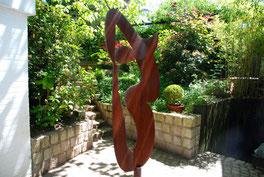 Kunst im Garten der Kunstagentur Bild & Raum