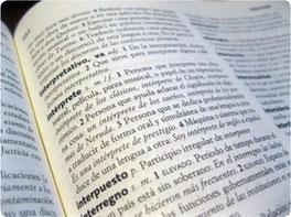 Übersetzungen vom Spanischen ins Deutsche und vom Deutschen ins Spanische