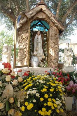 Erscheinungsstelle der Muttergottes, im Gesegneten Garten Mariens, Brindisi