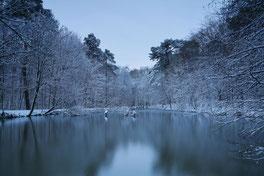 """© Böhling """"Winter an der Erker Mühle"""""""