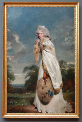 'Elisabeth Farren' (irische Schauspielerin), Sir Thomas Lawrence, ca. 1790, Metropolitan Museum of Art. Foto von Nina Möller