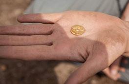 Stater keltische Münze
