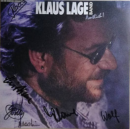"""""""Klaus Lage Band - Amtlich"""" mit Autogrammen Foto: good-vinyl.de"""