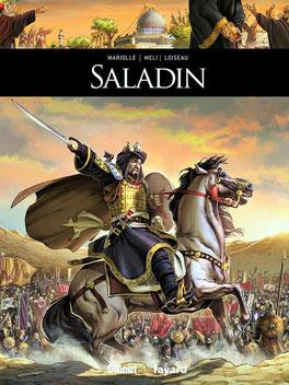 BD Historique SALADIN - Éditions  Glénat / Fayard - Temple de Paris