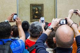 Massenansturm auf die Mona Lisa