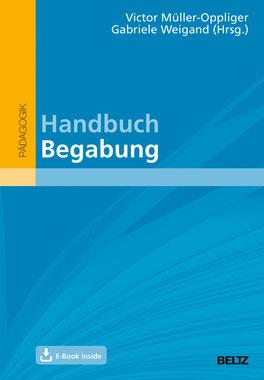 Buchcover: Handbuch Begabung