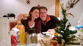 Weihnachtsstimmung in Shanghai: Glühwein bei Sonja und Daniel