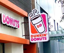 Fabricantes Anuncios Luminosos, Innovación Gráfica, Diseño Anuncios Luminosos, Dunkin Donuts