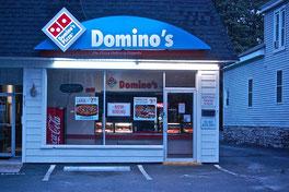 Fabricantes Anuncios Luminosos, Innovación Gráfica, Diseño Anuncios Luminosos, Domino´s Pizza