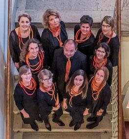 """Frauenensemble """"vocal orange"""" Salzburg - Foto: © Taro Ebihara"""