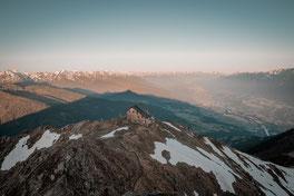 TuXer Alpen, Tuxer Alpenbuch, Tuxer Führer, TuXer Berge, Tuxer Täler, Kellerjoch, Inntaler Höhenweg