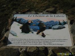 La Stèle du Col de la Cuarde