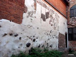 Reste des alten Rathauses