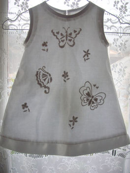 Robe boutis papillons