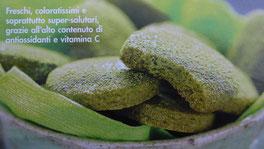 Ricetta biscottini aromatizzati al tè verde matcha