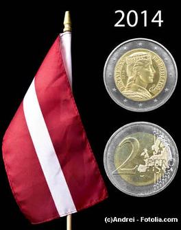 Lettland bekommt den Euro