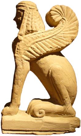 Esfinge etrusca, mamá de Wedgwood-Etruria-Barlaston