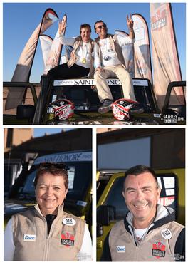 Gazelles and Men Rally - Fabienne & Pascal BURG.