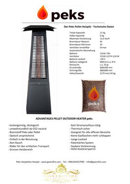 Holzpelletsheizpilz pelletsheizpilz die alternative zu den verbotenen gas heizpilzen und teueren infrarotstrahlern für die gastronomie