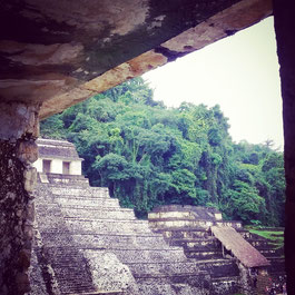 The magical ruins in Palenque