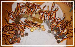 Medaillen Deutsche Meisterschaften