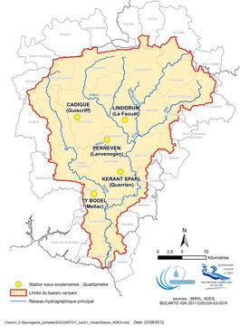 Les stations de suivi des eaux souterraines pour les pesticides - ADES
