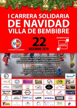 I CARRERA DE NAVIDAD VILLA DE BEMBIBRE - Bembibre, 22-12-2019