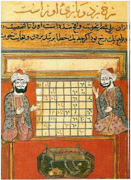 Miniatura iraní conservada en el Royal Asiatic Society de Londres.
