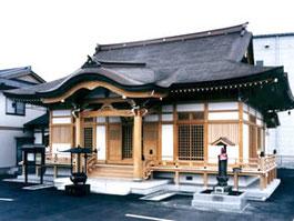 正源寺会館の外観